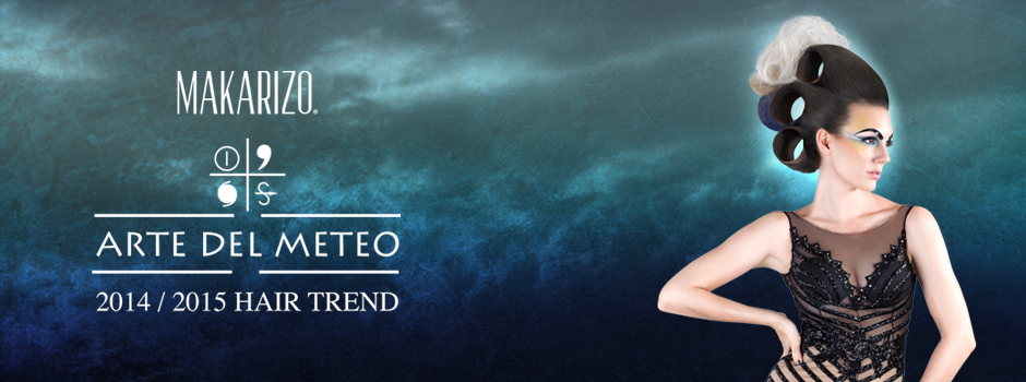 Makarizo presents 2014/2015 hair trend Arte Del Meteo, the art of weather (change). The full portfolio features 20 different hair designs.
